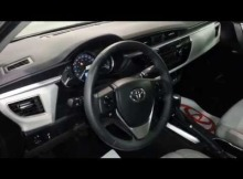 Toyota Corolla LE 2015 Video Interior Colombia